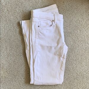 PRICE DROPPED Loft Ankle Zip Skinny Jeans sz 2